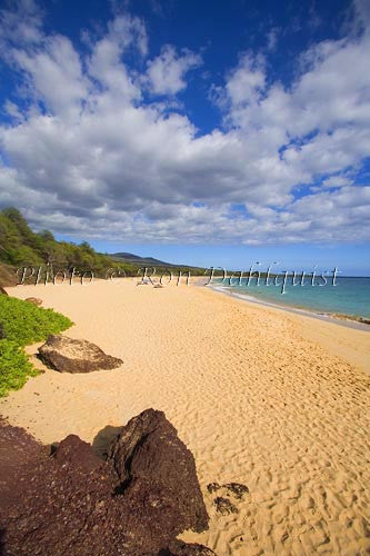 Oneloa Beach, Big Beach, Makena, Maui, Hawaii Photo