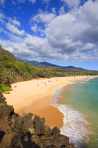 Oneloa Beach, Big Beach, Makena, Maui, Hawaii Picture