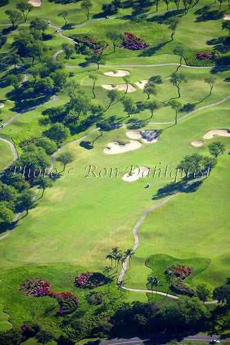 Wailea Gold and Emerald golf courses. Wailea, Maui, Hawaii Picture