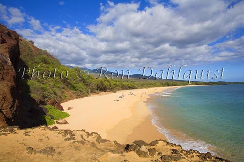 Oneloa Beach, Big Beach, Makena, Maui, Hawaii Photo Stock Photo