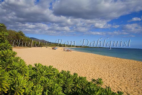 Oneloa Beach, Big Beach, Makena, Maui, Hawaii - Hawaiipictures.com