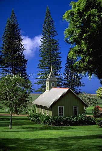 Church at The Lodge at Koele, Lanai, Hawaii - Hawaiipictures.com