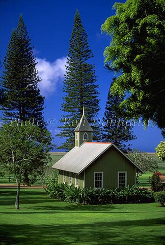 Church at The Lodge at Koele, Lanai, Hawaii