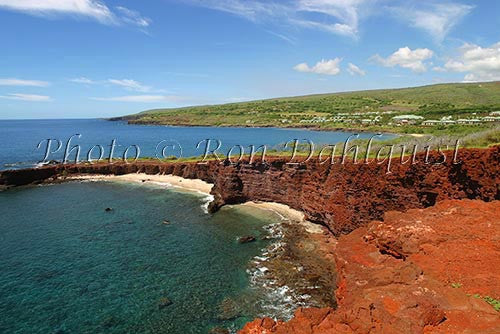 Shark's Cove near Hulopoe Beach and Manele Bay, Lanai