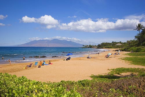 Poolenalena Beach, Makena, Maui, Hawaii Photo