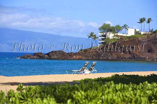 Kaanapali Beach and Black Rock, Maui, Hawaii