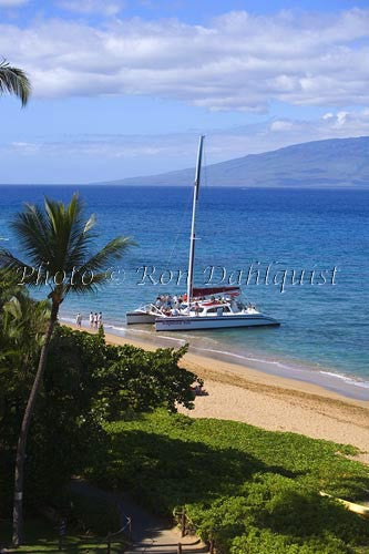 Kaanapali Beach, Maui, Hawaii Stock Photo