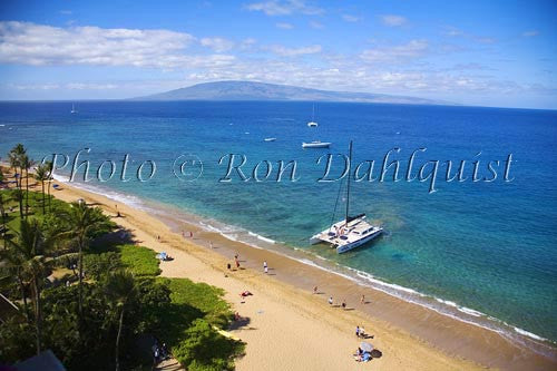 Kaanapali Beach, Maui, Hawaii Picture Photo Stock Photo