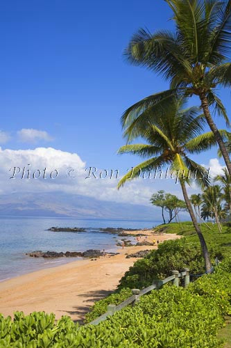 Mokapu Beach, Wailea, Maui, Hawaii Photo Stock Photo