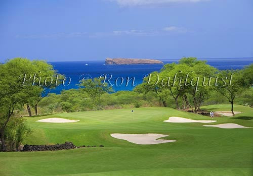 Makena South Golf Course, Makena, Maui, Hawaii Picture Photo