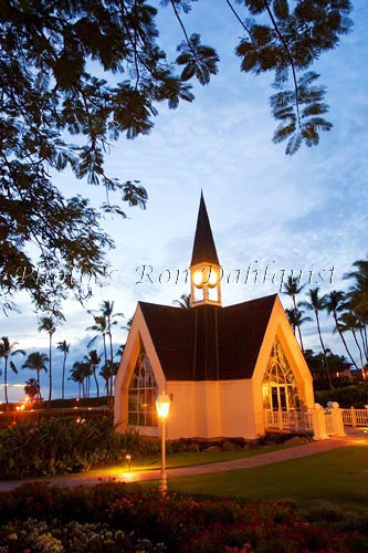 Grand Wailea Resorts Wedding Chapel by the Sea. Wailea, Maui, Hawaii Picture