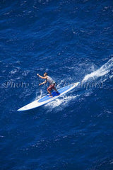 Stand-up paddle board race, Maui, Hawaii Picture