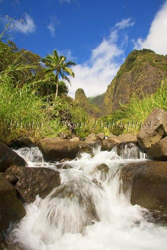 Iao Needle at Iao Valley State Park, Maui, Hawaii