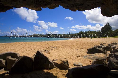 Fleming beach, Kapalua, Maui, Hawaii Photo Stock Photo