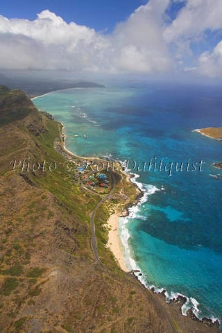 Makapu Beach and Sea Life Park, Oahu, HI Picture Photo - Hawaiipictures.com