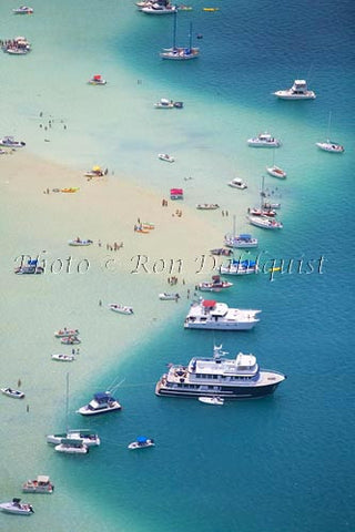 Aerial of Kaneohe Sand Bar, Oahu - Hawaiipictures.com