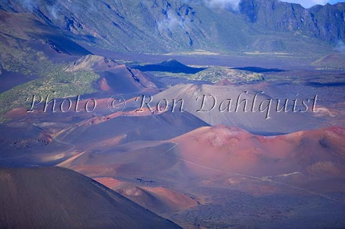 View of Haleakala Crater, Maui, Hawaii Photo