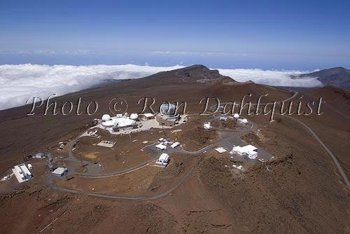 Science City on top of Haleakala Crater, Haleakala National Park, Maui, Hawaii