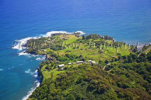 Aerial of Keanae Peninsula, Maui, Hawaii - Hawaiipictures.com