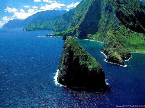 Molokai Coast Picture - Hawaiipictures.com