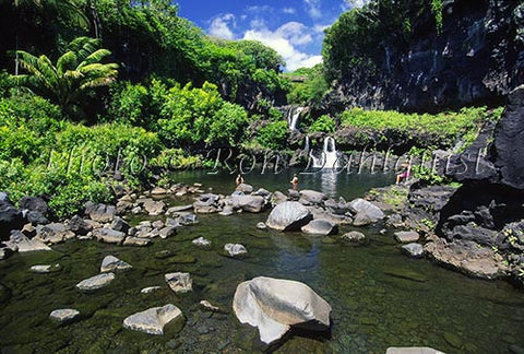 Ohe'o Gulch (Seven Sacred Pools) Hana, Maui, Hawaii