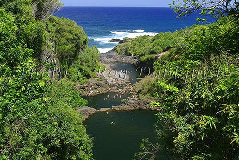 Ohe'o Gulch (Seven Sacred Pools) Hana, Maui, Hawaii Picture