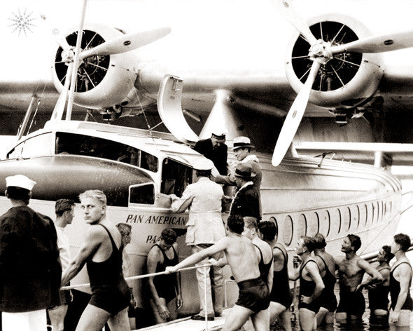 1935 Inaugural Pan American Flight - Hawaiipictures.com