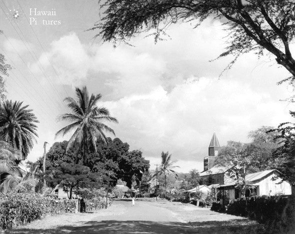 Historic Picture Of Alii Drive