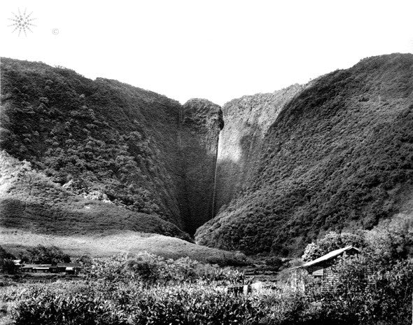Historical Picture Of Waipio Valley