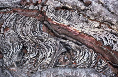 Hardened Lava - Pahoehoe - Hawaiipictures.com