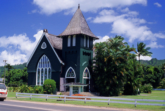 Hanalei Church Building - Hawaiipictures.com