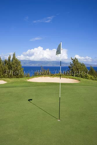 Plantation Golf Course, Kapalua, Maui, Hawaii