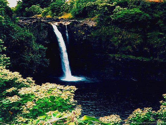 Rainbow Falls Picture Picture