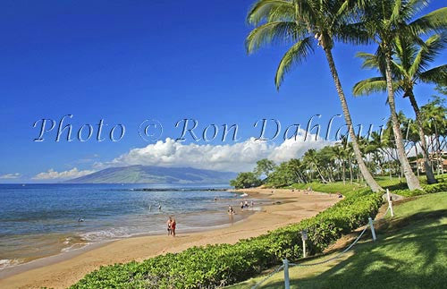 Ulua beach, Wailea, Maui, Hawaii Photo Stock Photo
