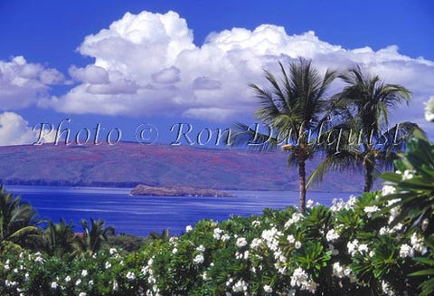 View of Molokini and Kahoolawe as seen from Wailea, Maui, Hawaii - Hawaiipictures.com