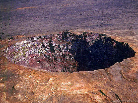 Volcano Crater Picture