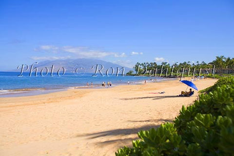 Wailea Beach, Maui, Hawaii - Hawaiipictures.com