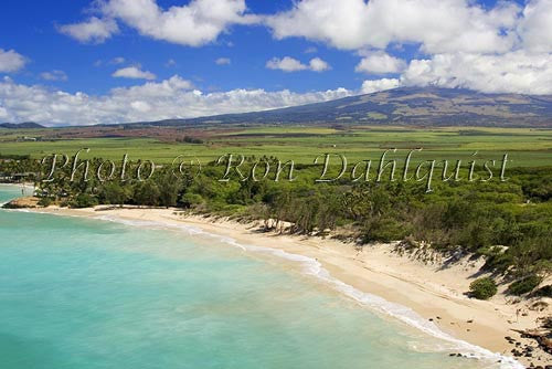 Aerial of Spreckelsville Beach, north shore of Maui, Hawaii - Hawaiipictures.com