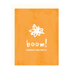 Boom! Congrats Note Card | Luxe Stationery & Greeting Cards by 7th & Palm
