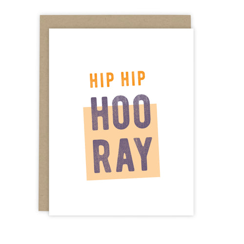 Hip Hip Hooray Card | Luxe Stationery & Greeting Cards by 7th & Palm