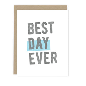 Best Day Ever Note Card | Luxe Stationery & Greeting Cards by 7th & Palm