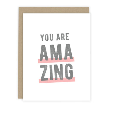 You Are Amazing Note Cards | Luxe Stationery & Greeting Cards by 7th & Palm