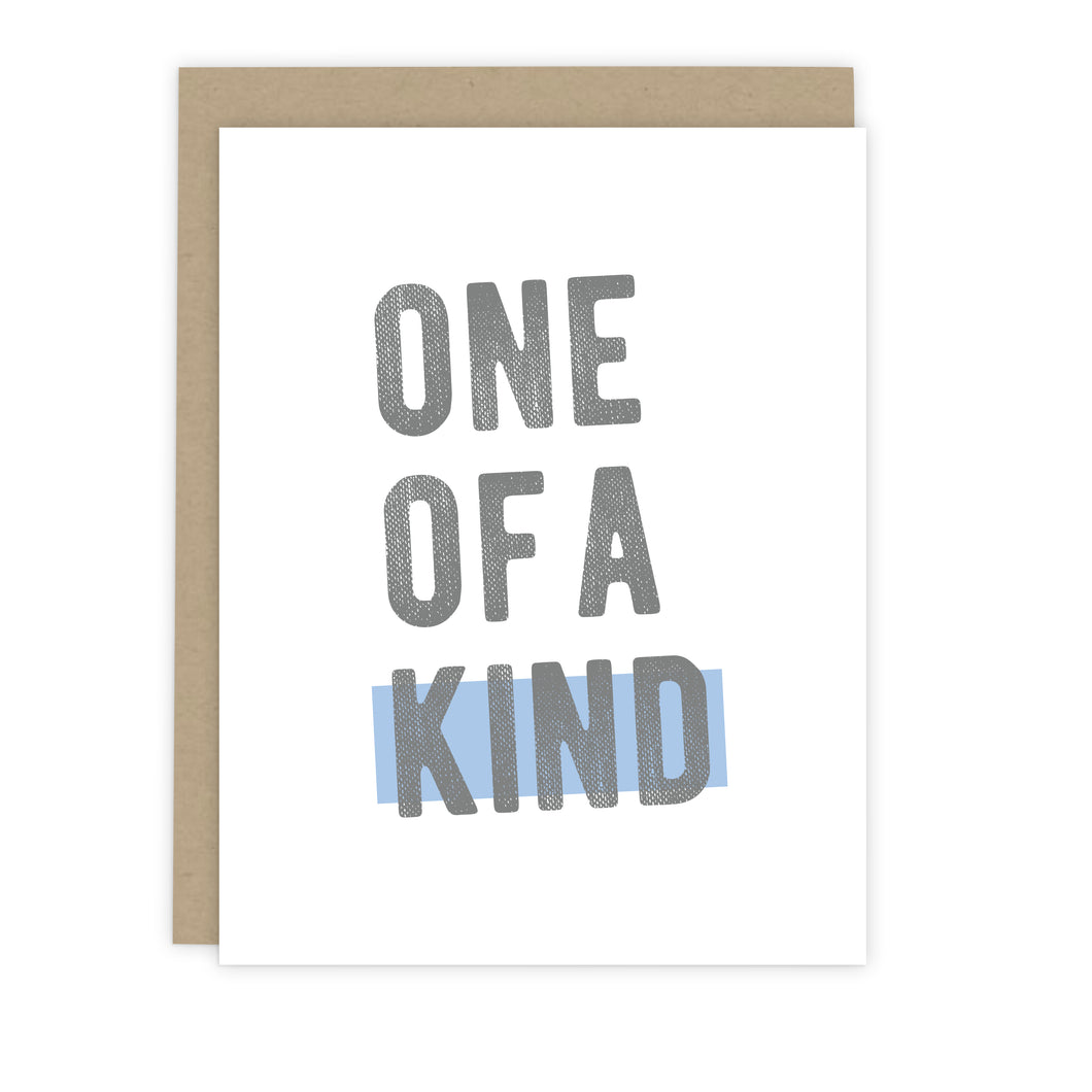 One of a Kind Note Card | Luxe Stationery & Greeting Cards by 7th & Palm
