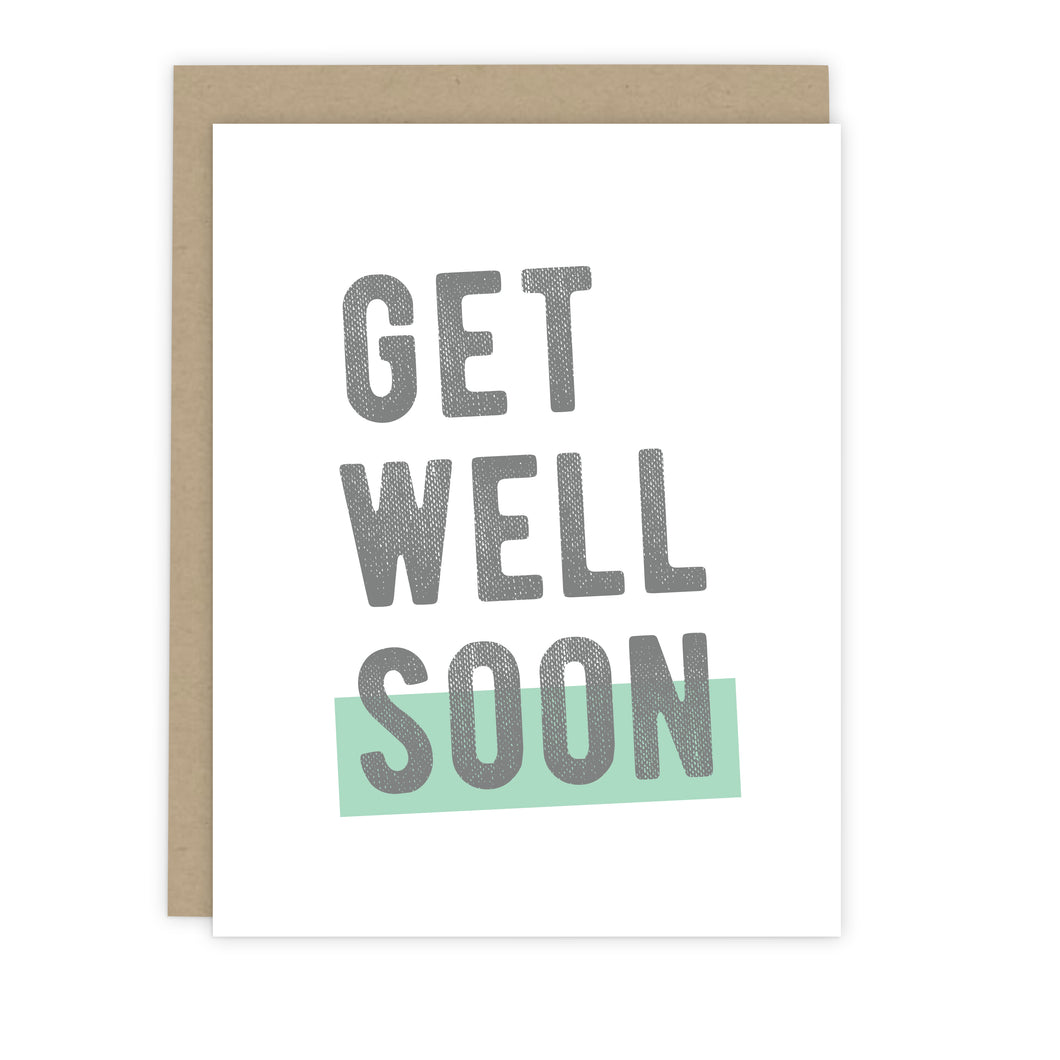 Get Well Soon Card | Luxe Stationery & Greeting Cards by 7th & Palm