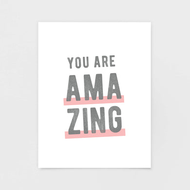 You Are Amazing Note Cards - Greeting Cards & Stationery by 7th & Palm