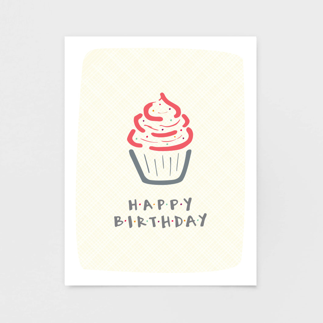 Cupcake Birthday Card by 7th & Palm