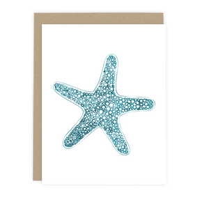 Sea Star Note Card