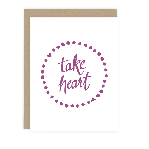 Take Heart Note Card