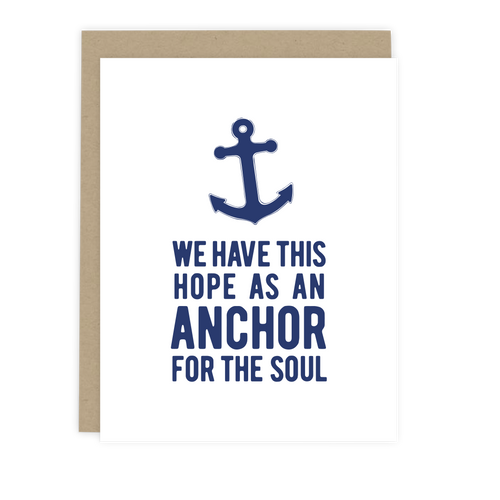 Hope Anchor Note Card