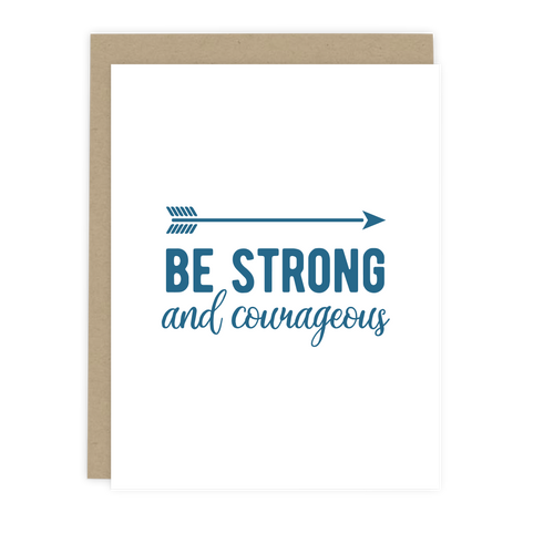 Be Strong Note Card